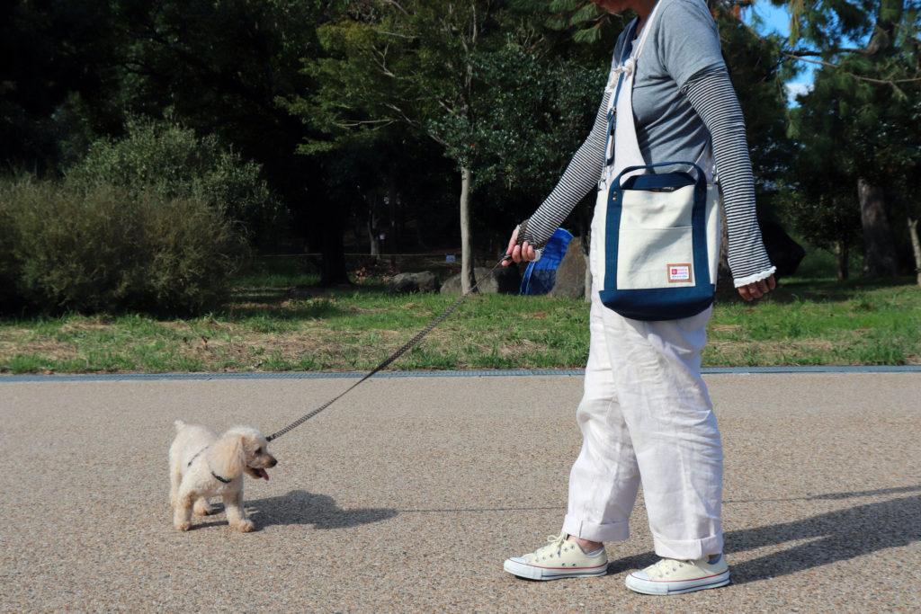 お散歩2Wayトートバッグ 使用例