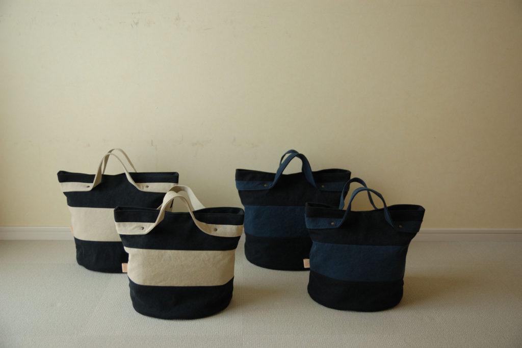 倉敷帆布バケツ型トートバッグ