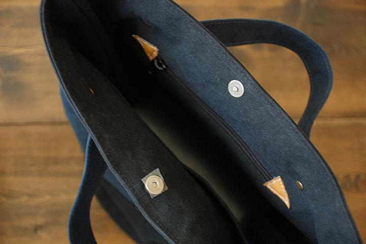 倉敷帆布バケットの留め具