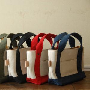 長財布サイズのミニトートバッグ