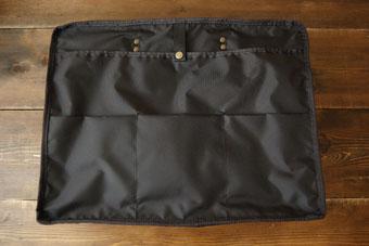 倉敷帆布ボストンバッグ<ブラック>の内ポケット
